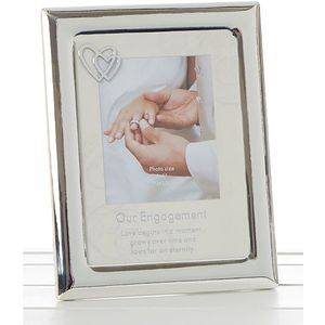 "Engagement Photo Frame 4x6"""