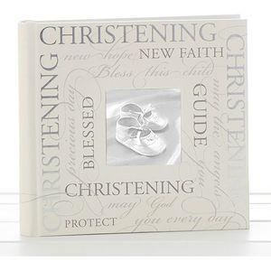 """Christening Photo Album (script design) 6x4"""""""