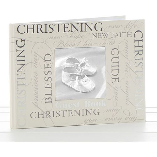 Christening Guest Book - Script Design