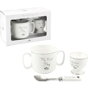 My First Breakfast Set (Mug Egg Cup & Spoon)