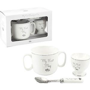 My First Feeding Set (Mug Egg Cup & Spoon)