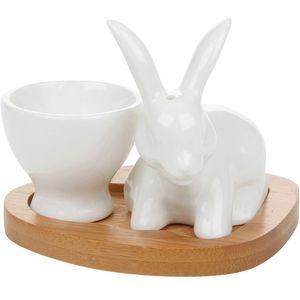 Egg Cup Gift Set (bunny)
