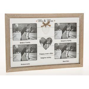 Provence Collage Photo Frame - Wedding (Mr & Mrs)