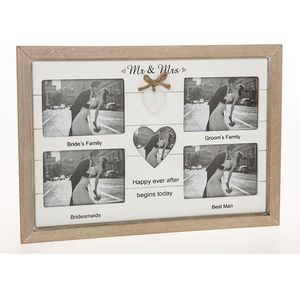 Provence Multi Wedding Photo Frame Mr & Mrs