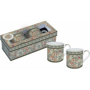 Mary Isobel Tapestry China Mugs Boxed set of 2