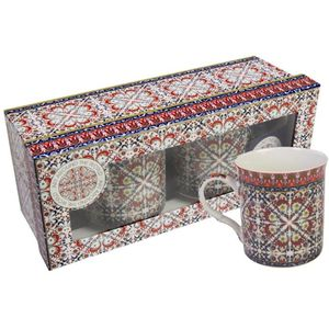 Morocco Mugs Boxed Set of 2