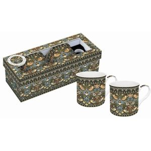 Strawberry Thief Tapestry Mugs Boxed Set of 2
