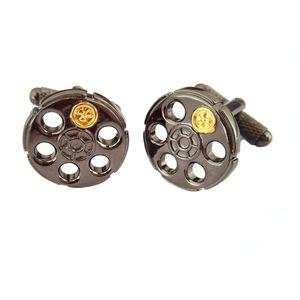 Russian Roulette Cufflinks