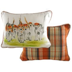 Country Beagles Cushion Cover