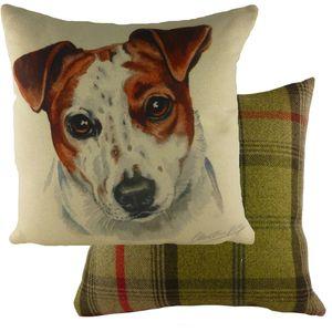 Evans Lichfield Waggydogz Cushion: Jack Russell 43cm x 43cm