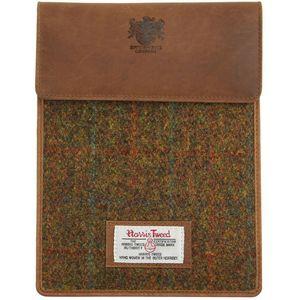 Harris Tweed Mini Tablet Case: Stornoway Brown Check