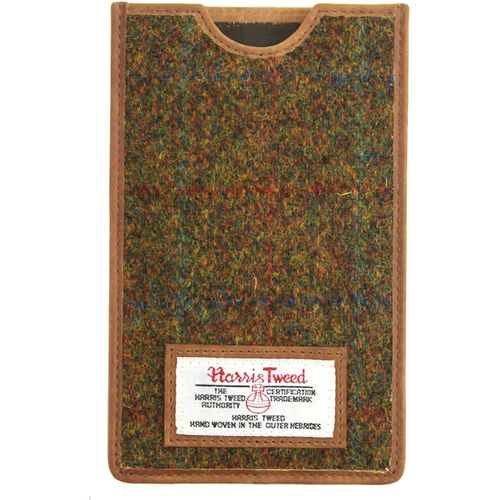 Harris Tweed Phone Case: Stornoway Brown Check
