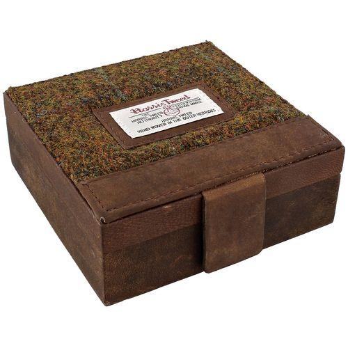 Harris Tweed Trinket Box: Stornoway Brown