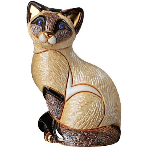 De Rosa Siamese Cat Figurine F122