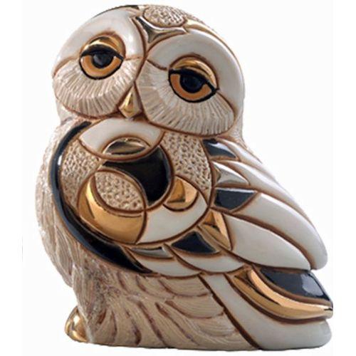 De Rosa Snowy Owl Figurine F135