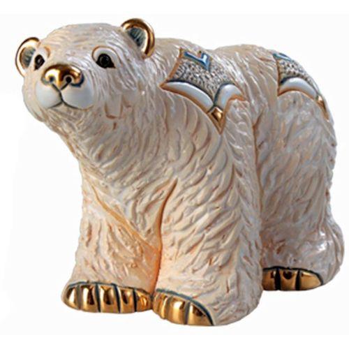 De Rosa Arctic Polar Bear Figurine F163