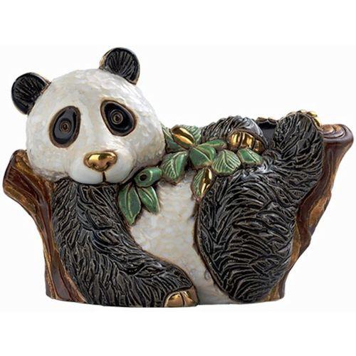 De Rosa Panda on Tree Figurine F166