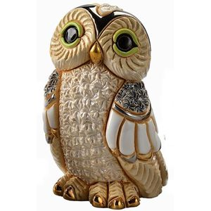 De Rosa Winter Owl Figurine