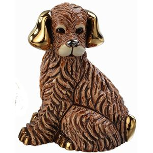 De Rosa Brown Dog Figurine