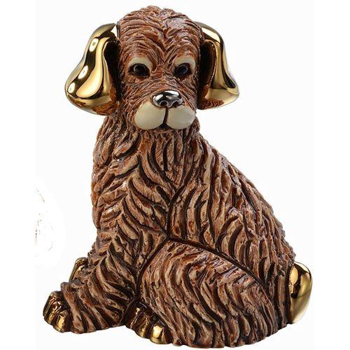 De Rosa Brown Dog Figurine F189