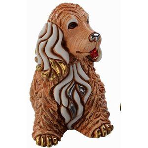 De Rosa Cocker Brown Dog Figurine