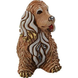 De Rosa Cocker Dog Figurine
