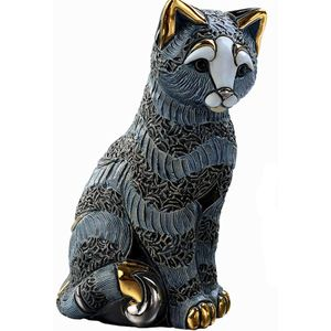 De Rosa Striped Cat Figurine