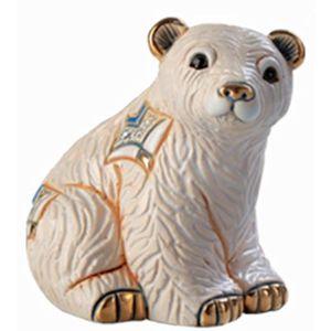 De Rosa Baby Arctic Polar Bear Figurine