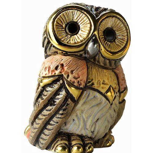 De Rosa Baby Eastern Owl Figurine F383