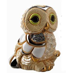 De Rosa Baby Winter Owl Figurine