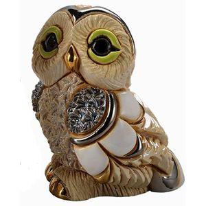 De Rosa Baby Winter Owl II Figurine