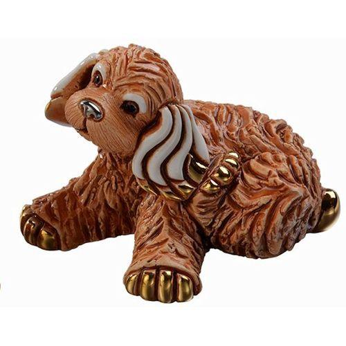 De Rosa Baby Cocker Dog Figurine F390