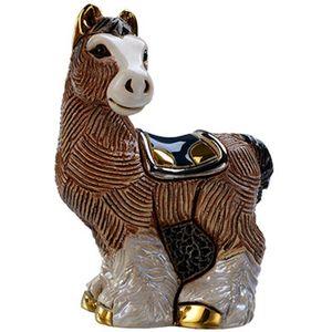De Rosa Baby Clydesdale Horse Figurine