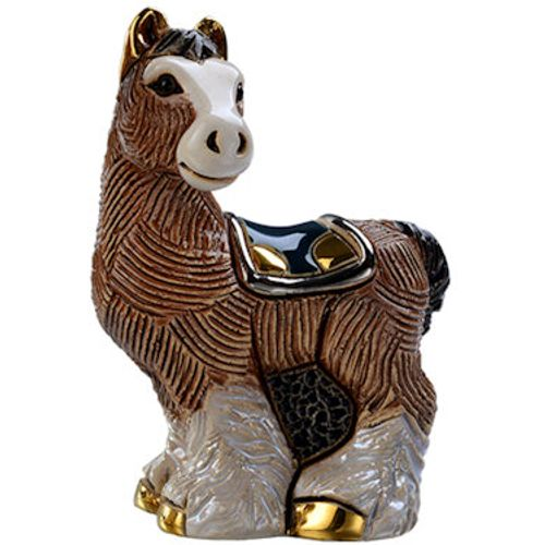 De Rosa Baby Clydesdale Horse Figurine F391