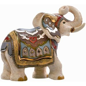 De Rosa White Indian Elephant Limited Edition Figurine