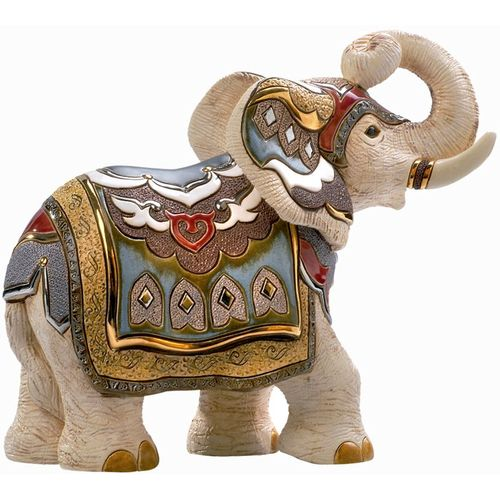 De Rosa White Indian Elephant Limited Edition Figurine 457