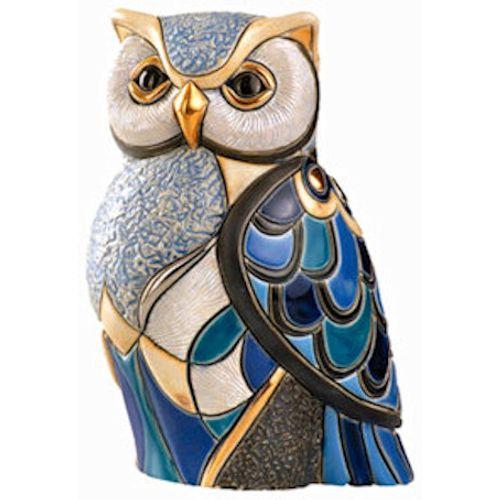 De Rosa Blue Owl Figurine 1018