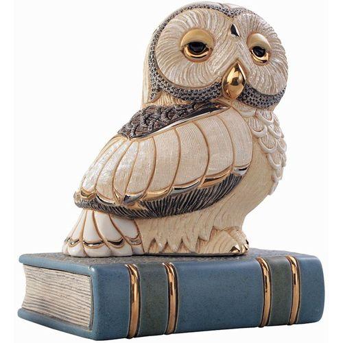 De Rosa Owl on Book Figurine 1024