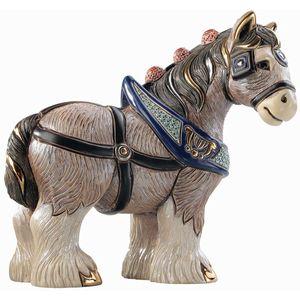 De Rosa Clydesdale Horse Figurine