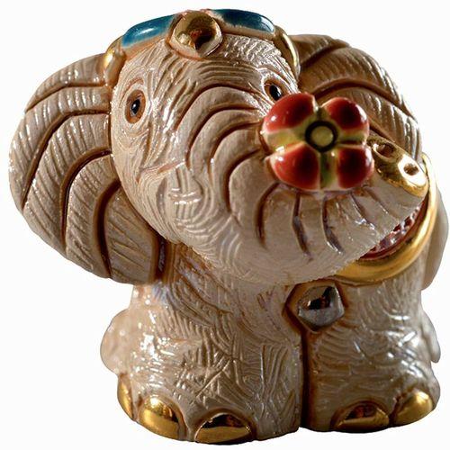 De Rosa Mini Elephant Figurine NEW in Gift Box