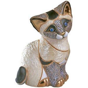 De Rosa Siamese Kitten Resting Figurine