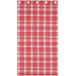 St Ives Check (pink) Curtains 66x72""