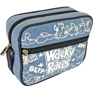 Wacky Races Collage Retro Wash Bag
