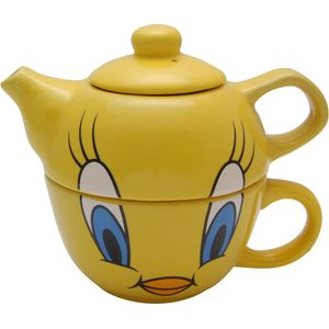 Tweety Teapot & Cup Set for one
