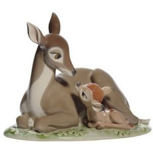 Nao Disney Bambi (Mother & baby) Figurine