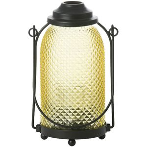 Yankee Candle Glass Lantern Candle Holder - Yellow