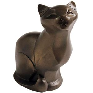 The Gallery Collection Cold Cast Bronze Figurine - Cat Sitting