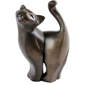 The Gallery Collection Cold Cast Bronze Figurine - Cat Standing