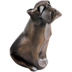 The Gallery Collection Cold Cast Bronze Figurine - Labrador Dog