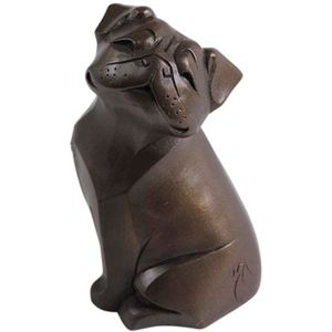 The Gallery Collection Cold Cast Bronze Figurine - Pug Dog